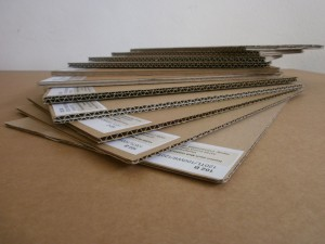 Material das wir bei karton-nach-maß verwenden